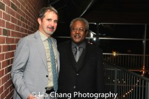 John Dias and Willie Dirden. Photo by Lia Chang