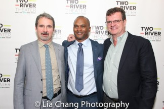 John Dias, Carl Cofield and Michael Cumpsty. Photo by Lia Chang