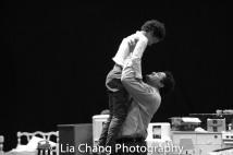 Owen Tabaka and Brandon J. Dirden Photo by Lia Chang