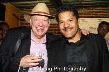 Peter Van Wagner and Brandon J. Dirden. Photo by Lia Chang