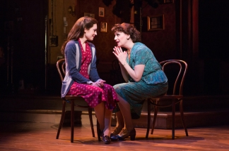 Laura Osnes and Beth Leavel. Photo by Jeremy Daniel