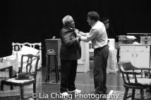 Willie Dirden and Brandon J. Dirden Photo by Lia Chang