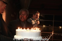 Willie Dirden and John Dias. Photo by Lia Chang