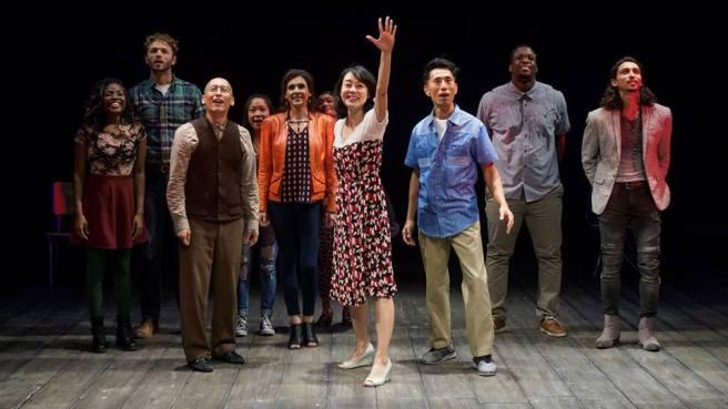 The cast of WILD GOOSE DREAMS. Photo by Jim Carmody