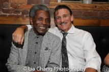 André De Shields and Bob Stillman Photo by Lia Chang