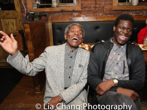 André De Shields and Kyle Scatliffe. Photo by Lia Chang