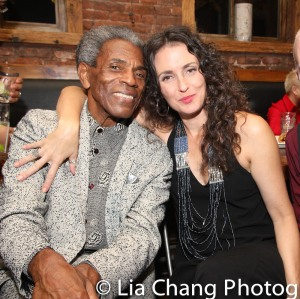 André De Shields and Leenya Rideout. Photo by Lia Chang