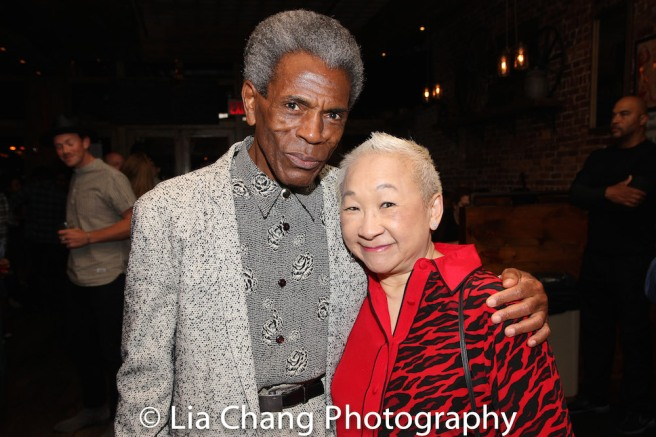 André De Shields and Lori Tan Chinn. Photo by Lia Chang
