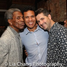 André De Shields, Robert Michael Johnson and Dan Marshall. Photo by Lia Chang
