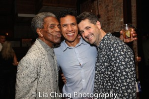 André De Shields, Robert Michael Johnson and Dan Marshall. Photo by Lia Chang