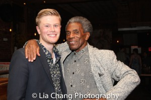 Andrew Oakes and André De Shields. Photo by Lia Chang
