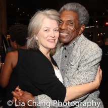 Cass Morgan and André De Shields. Photo by Lia Chang