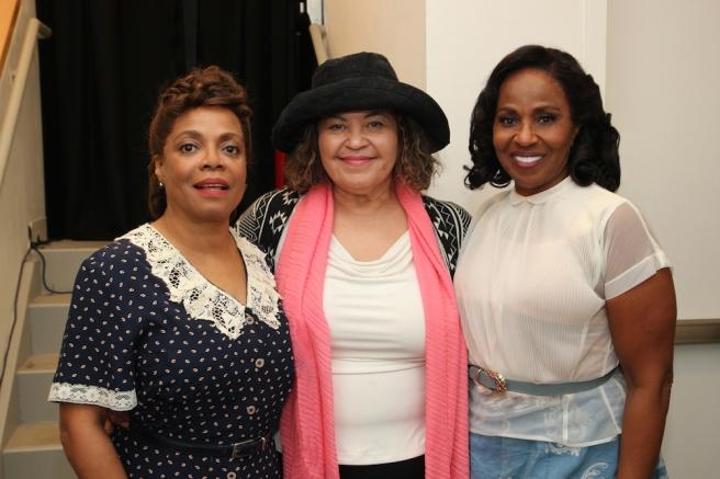 Denise Burse, Michele Shay and Pauletta Pearson Washington. Photo by Lia Chang