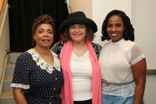 Denise Burse, Michele Shay and Pauletta Pearson Washington. Photo by Lia Chang