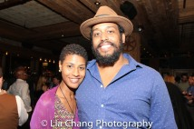 Jenay M and David Samuel. Photo by Lia Chang