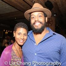 Jenay M and David Samuel. Photo by Lia Chang