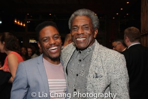 Jon Hill and André De Shields. Photo by Lia Chang
