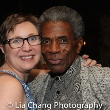 Kat West and André De Shields. Photo by Lia Chang