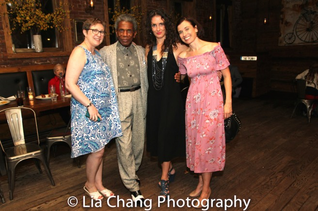 Kat West, André De Shields, Leenya Rideout and Hannah Cabell. Photo by Lia Chang