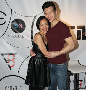 Lia Chang and James Seol. Photo by Garth Kravits