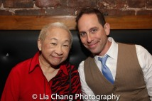 Lori Tan Chinn and Garth Kravits. Photo by Lia Chang