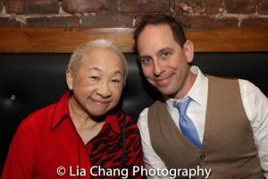 Lori Tan Chinn and Garth Kravits. Photo by Lia Chang