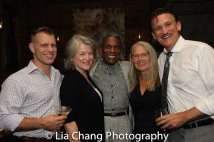 Noah Brody, Cass Morgan, André De Shields, Rhonda Coullett, Bob Stillman. Photo by Lia Chang