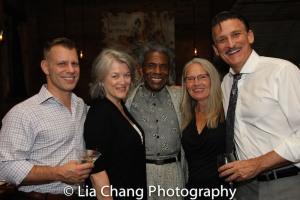 Noah Brody, Cass Morgan, André De Shields, Rhonda Coullett, Bob Stillman. Photo by Lia Chang