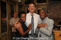Quincy Tyler Bernstine, Bob Stillman and André De Shields, Photo by Lia Chang