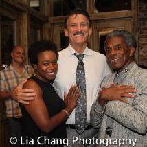 Quincy Tyler Bernstine, Bob Stillman and André De Shields, Photo by Lia Chang