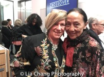 Asia Society's Rachel Cooper and Ching Valdes- Aran. Photo by Lia Chang