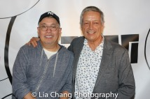 Ma-Yi's Producing Artistic Director Ralph B. Peña and Executive Director Jorge Ortoll. Photo by Lia Chang