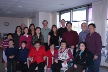Nancy Lee Chang, her sister Minerva and their families