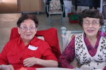 Nancy Lee Chang and her sister Minerva Wong. Photo by Lia Chang