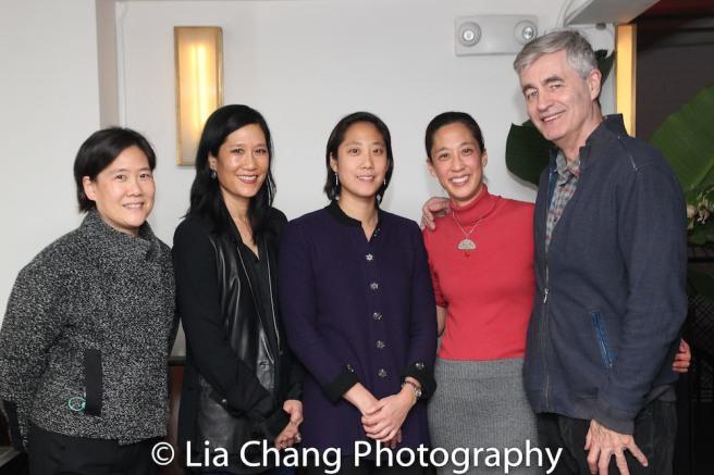 Jill Sung, Vera Sung, Chanterelle Sung, Heather Sung and Director Steve James. Photo by Lia Chang