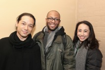Jake Manabat, Emmanuel Brown, Jess Fry. Photo by Lia Chang