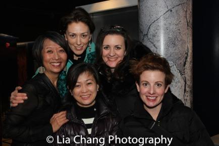 Jeanne Sakata, Vanessa Morosco, Mikiko Suzuki Adams, Lisa Rothe and Cat Tate Starmer. Photo by Lia Chang