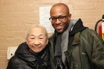 Lori Tan Chinn and Emmanuel Brown. Photo by Lia Chang
