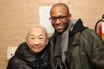 Lori Tan Chinn and Emmanuel Brown. Photo by Lia Chang