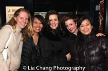 Mary K. Botosan, Jeanne Sakata, Lisa Rothe, Cat Tate Starmer and Mikiko Suzuki Adams. Photo by Lia Chang