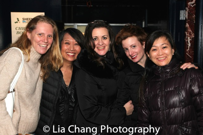 Mary K. Botosan, Jeanne Sakata, Lisa Rothe, Cat Tate Starmer and Mikiko Suzuki Adams. Photo by Lia Chang