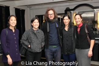 Chanterelle Sung, Jill Sung, Alexander Olch, Vera Sung and Heather Sung. Photo by Lia Chang