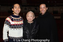 Jin Ha, Lori Tan Chinn, Jake Manabat. Photo by Lia Chang