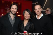 Jesse Liebman, Jeanne Sakata, Michael Wurl Larson. Photo by Lia Chang