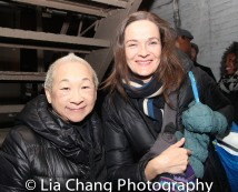 Lori Tan Chinn and Enid Graham. Photo by Lia Chang