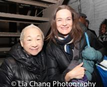 Lori Tan Chinn and Enid Graham. Photo by Lia Chang