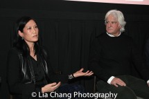 Vera Sung and producer Mark Mitten. Photo by Lia Chang