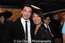 Johnny Wu and Jeanne Sakata. Photo by Lia Chang