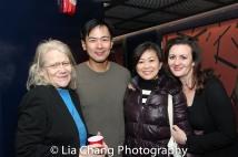 Morgan Jenness, Joel de la Fuente, Mikiko Suzuki MacAdams and Lisa Rothe. Photo by Lia Chang