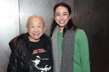 Lori Tan Chinn and Jess Fry. Photo by Lia Chang